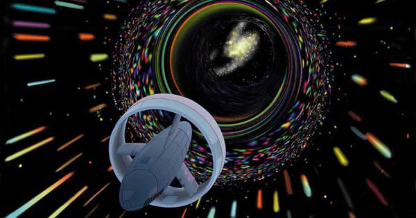 It's theoretically possible to travel faster than light using the warp drives seen in 'Star Trek'