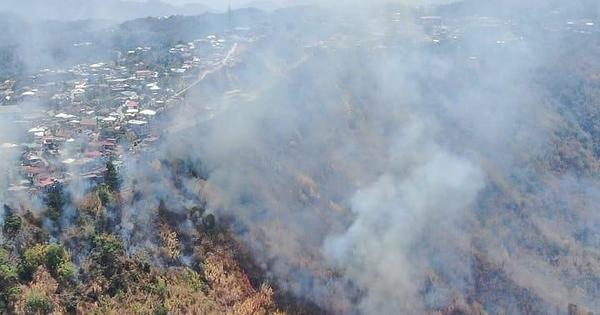 Mizoram: Forest fires raging for nearly 40 hours in two districts, no casualty reported so far