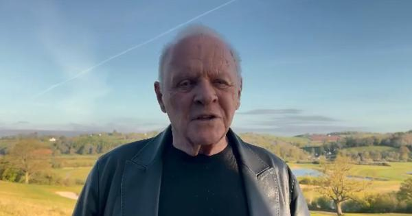 Watch: Anthony Hopkins pays tribute to Chadwick Boseman in Oscar speech for Best Actor award