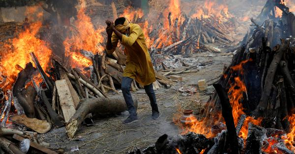 BJP has mastered the art of using symbols to its advantage. But will the mass pyres singe it?