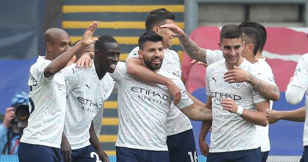 Premier League: Man City on the brink of title after beating Crystal Palace, Chelsea see off Fulham