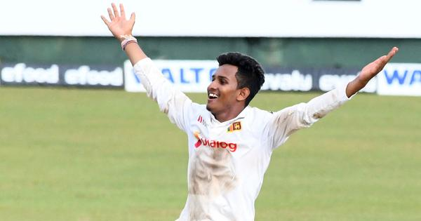 Cricket: Jayawickrama takes 11 wickets on debut as Sri Lanka seal Test series win over Bangladesh