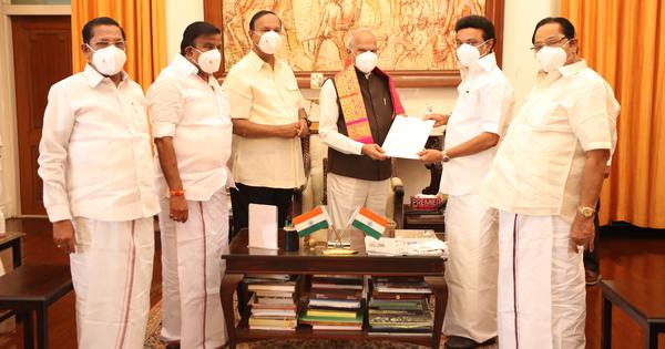 Tamil Nadu: DMK chief Stalin stakes claim to form government