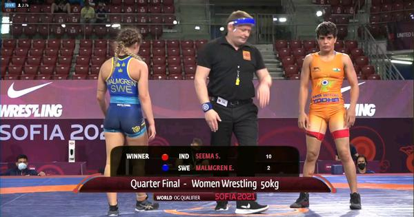 Wrestling World Olympic Qualifiers: Seema one win away from earning quota; Pooja, Nisha bow out