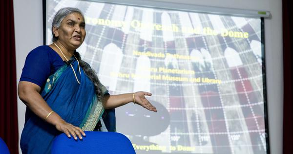 Nandivada Rathnasree (1963-2021): Passionate astronomy educator who helped many reach for the stars