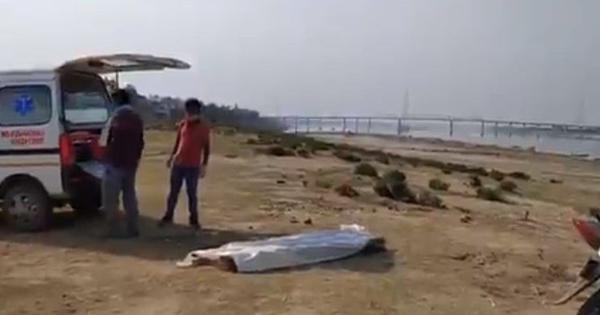 Coronavirus crisis: New cremation site comes up opposite Harishchandra Ghat in Varanasi