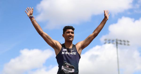 Watch: High jumper Tejaswin Shankar clinches gold at NCAA Big 12 meet in the US