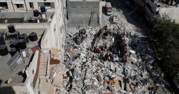 Israeli air strikes kill 26 more Palestinians in Gaza, Hamas top leader's home reportedly attacked