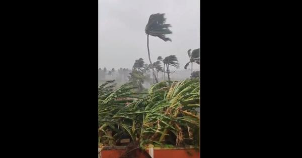 Watch: Now a 'severe storm', Cyclone Tauktae brings heavy rainfall, winds to Goa, hits power supply