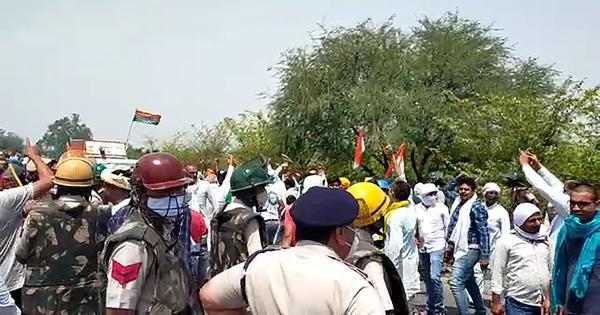 Haryana: Farmers protest against CM's visit to Hisar, 50 injured in clashes with police