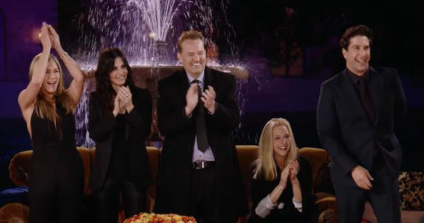 Watch: The cast of the blockbuster show 'Friends' reunite for a special edition