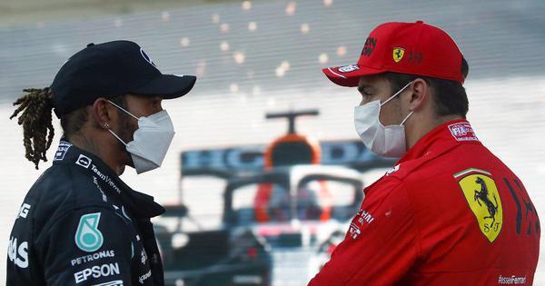 F1: Ferrari's Leclerc seizes pole at Baku, eyes Monaco redemption