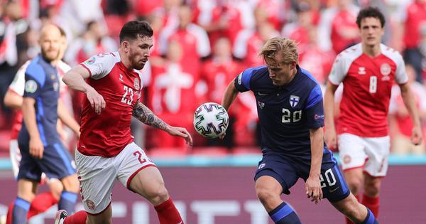 Euro 2020: Pohjanpalo helps Finland snatch win over Denmark after Eriksen's collapse