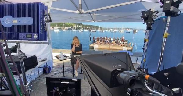 Watch: News anchor is interrupted by sea shanty singers while reporting on Israel parliamentary vote