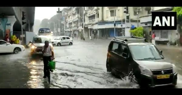 Watch: New monsoon, same flooding, as heavy rain leading to waterlogging in Mumbai
