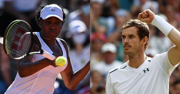 Wimbledon: Former champions Andy Murray and Venus Williams given wildcards