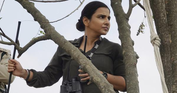 'Sherni' review: Vidya Balan burns bright in thoughtful film about a tiger hunt