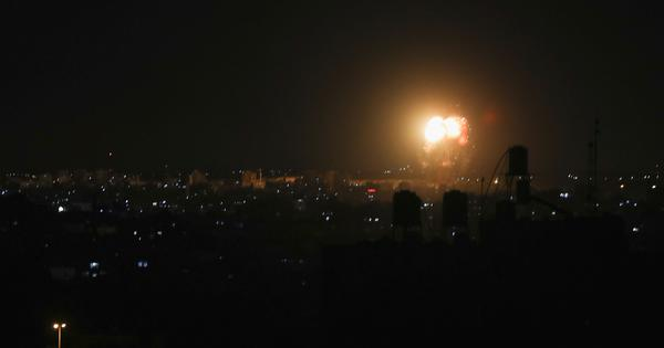 Israel launches second air attack on Gaza in three days, no casualties reported