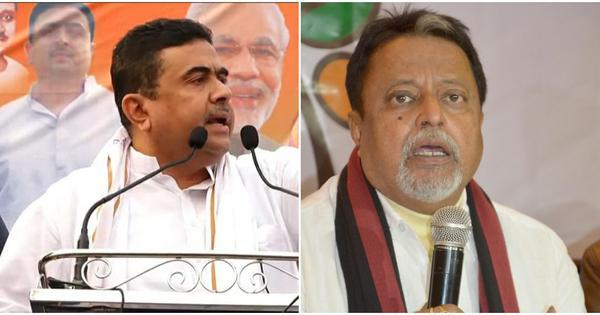 Suvendu Adhikari moves Calcutta HC seeking dismissal of Mukul Roy as an MLA
