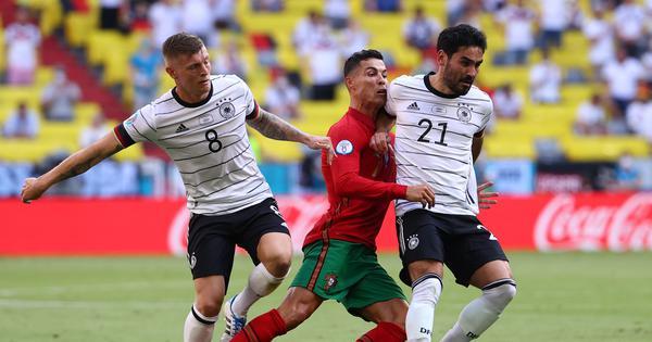 Euro 2020: Germany thump Portugal as Lewandowski helps Poland draw with Spain