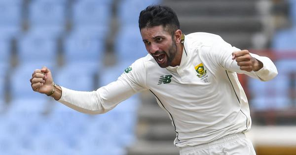 Watch: Keshav Maharaj becomes the second South African cricketer to take a hat-trick in Test cricket