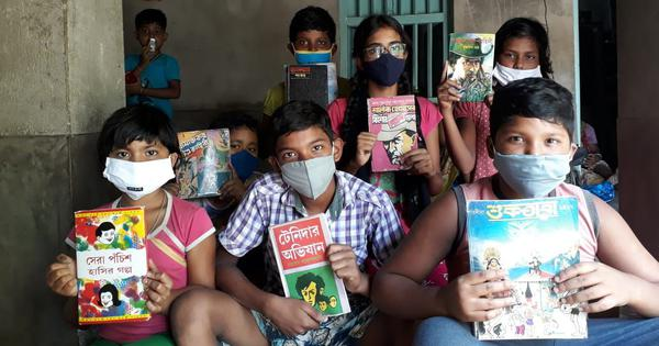 How a student in rural Bengal is defying the pandemic (and cyclones) with his libraries