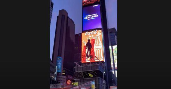 Watch: YouTuber flies across New York's Times Square on customised hoverboard