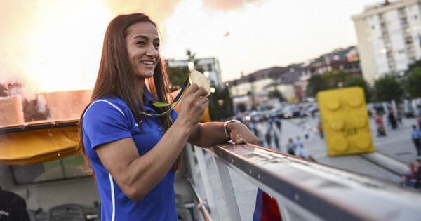 The story of Majlinda Kelmendi, Judo superstar who unites Kosovo