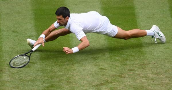 Watch: The best shots of Novak Djokovic at Wimbledon 2021