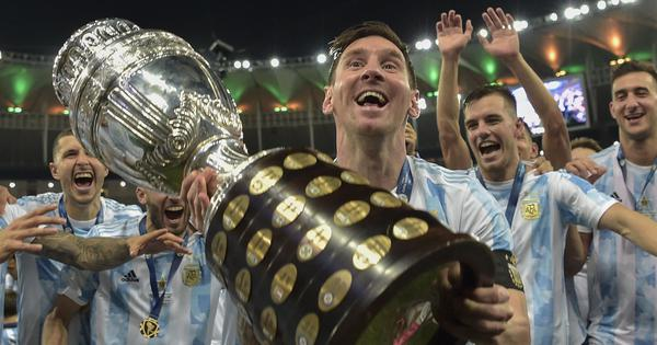 Copa America: Lionel Messi is a winner with Argentina at last, with bit of flair and lot of fight