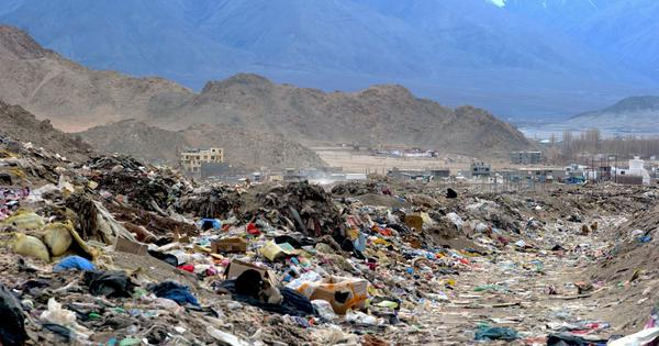 Tourists' toxic love for Ladakh is polluting its pristine environment