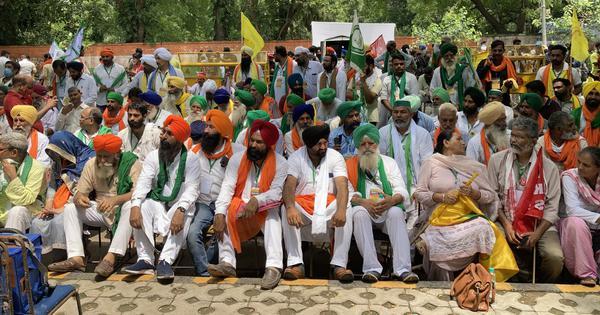 Stung by Republic Day violence, subdued farmers gather at Jantar Mantar for 'Kisan Sansad'
