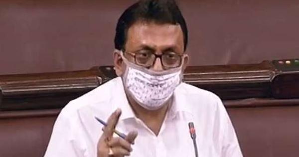 Trinamool MP Santanu Sen suspended from Rajya Sabha for snatching IT minister's statement on Pegasus