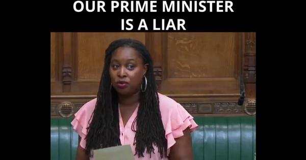 Watch: UK MP Dawn Butler says in Parliament PM Boris Johnson has lied repeatedly