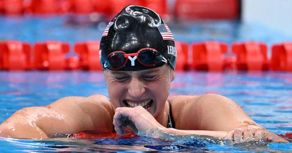 Tokyo 2020, swimming: Katie Ledecky wins inaugural Olympic women's 1500m freestyle gold