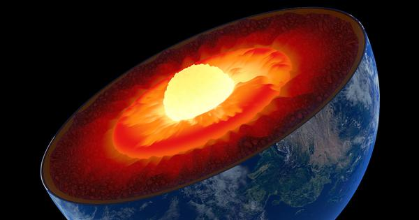 Earth's inner core is expanding more on one side than the other