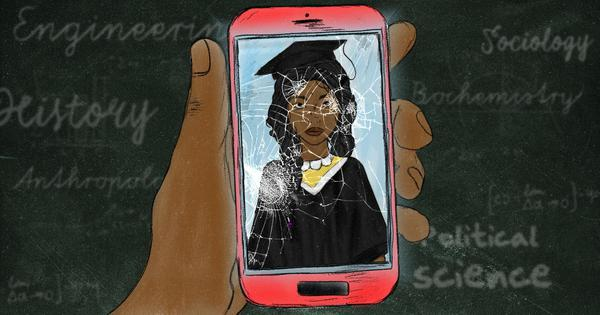 The agony of navigating college on a smartphone