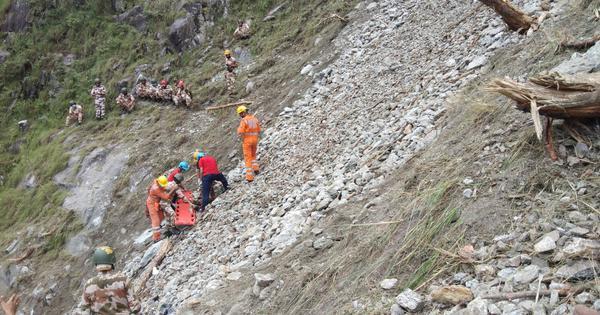 Kinnaur landslide: Toll rises to 25, at least four still missing