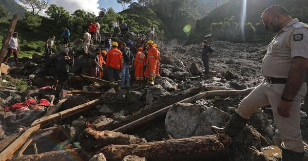 In Himachal Pradesh, climate change and unplanned development are causing disasters