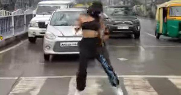 Watch: Woman dances on zebra crossing in Indore for social media post, will be booked, says minister