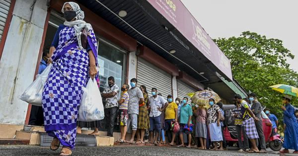 As Sri Lankans stare at empty supermarket shelves, here's how the country's economy slid into crisis