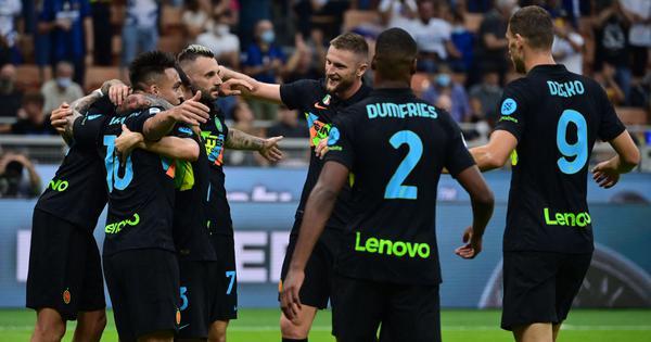 Serie A: Inter Milan trounce Bologna to top table, Fiorentina continue good start