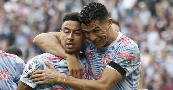 Premier League: Ronaldo scores before Lingard grabs late winner for Man United against West Ham