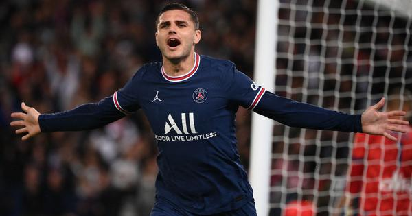 Ligue 1: Icardi scores dramatic late winner for PSG against Lyon as Messi makes home debut