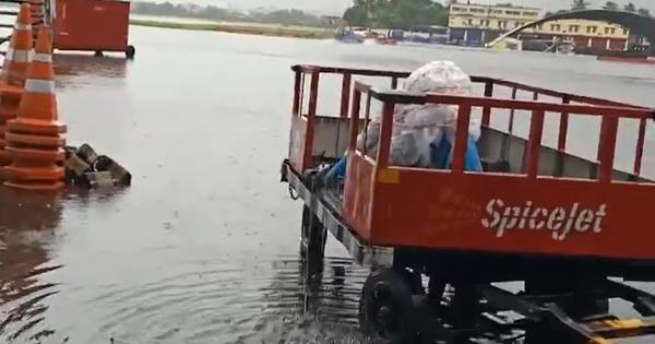 Kolkata airport flooded as city receives highest single-day rainfall in September in 14 years