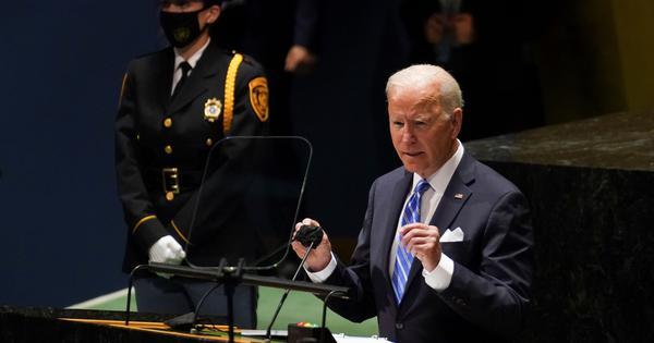 US does not seek new Cold War, says Joe Biden at UN General Assembly