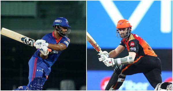 IPL 2021, DC vs SRH live updates: Pant, Iyer take DC to the top of the points table
