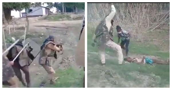 Assam: Video captures police firing that killed two during eviction drive