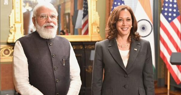PM Narendra Modi meets US Vice President Kamala Harris, discusses Covid, Afghanistan