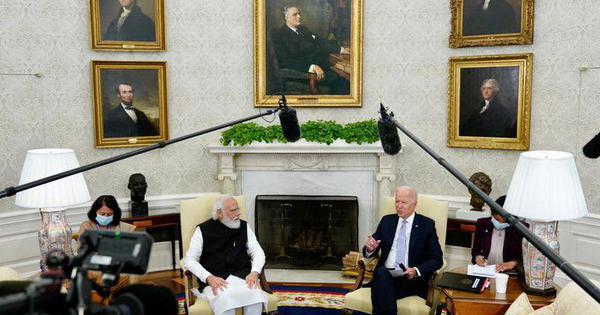Watch: US press questions President Joe Biden's 'Indian press is better behaved' comment